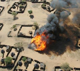 Darfur - Aerial View